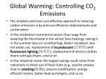 global warming controlling co 2 emissions1
