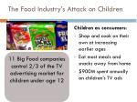 the food industry s attack on children