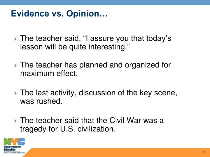 """The teacher said, """"I assure you that today's lesson will be quite interesting."""""""