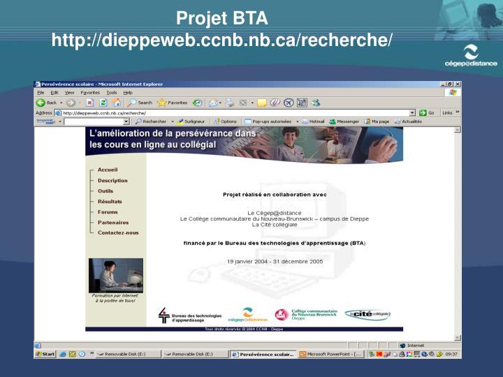 Projet BTA
