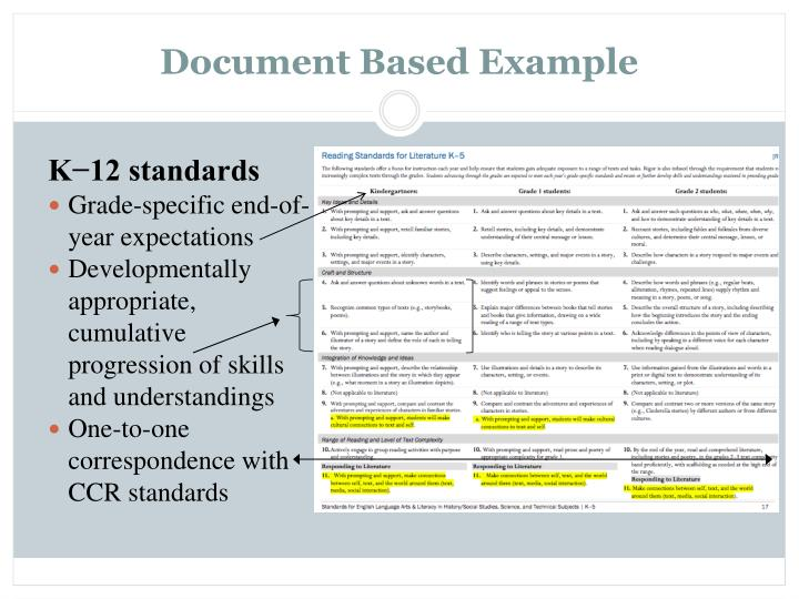 Document Based Example