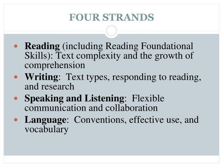 FOUR STRANDS