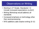 observations on writing