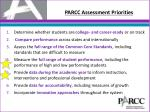 parcc assessment priorities