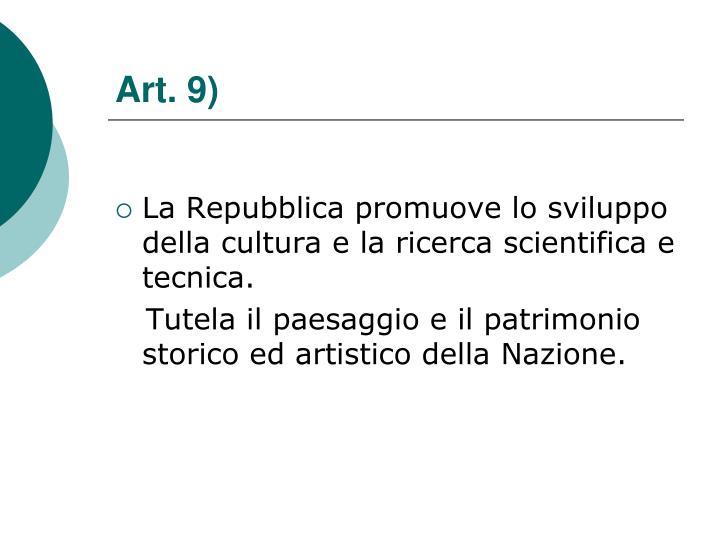 Art. 9)