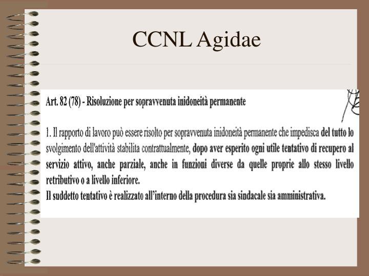 CCNL Agidae