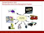 sample dynamic sos metropolitan area crisis management system
