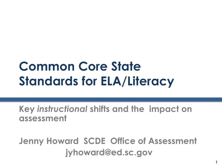 common core state standards for ela literacy n.