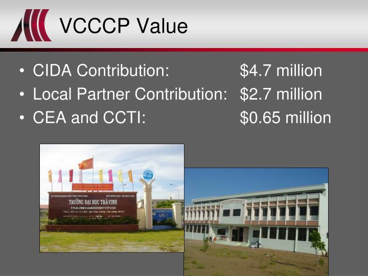 VCCCP Value