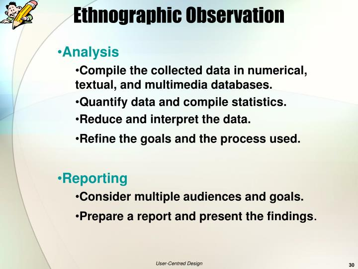 Ethnographic Observation