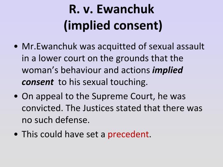 R. v. Ewanchuk