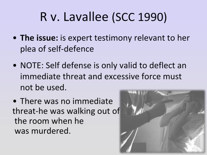 R v. Lavallee