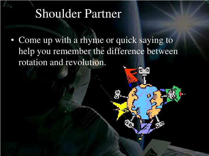 Shoulder Partner