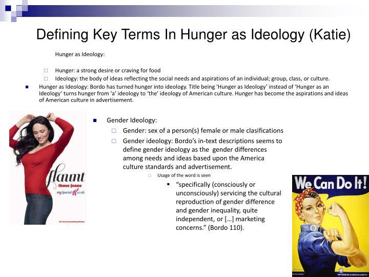 Hunger as Ideology:
