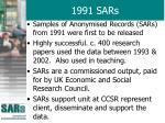 1991 sars