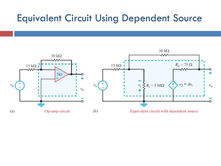 Equivalent Circuit Using Dependent Source