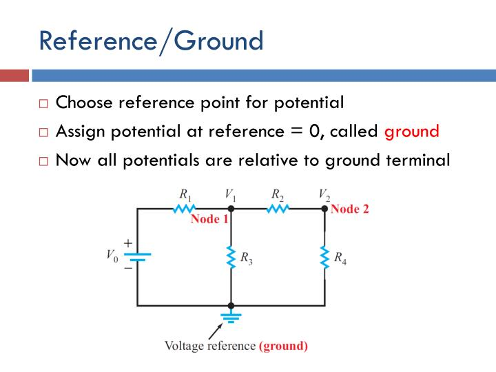 Reference/Ground