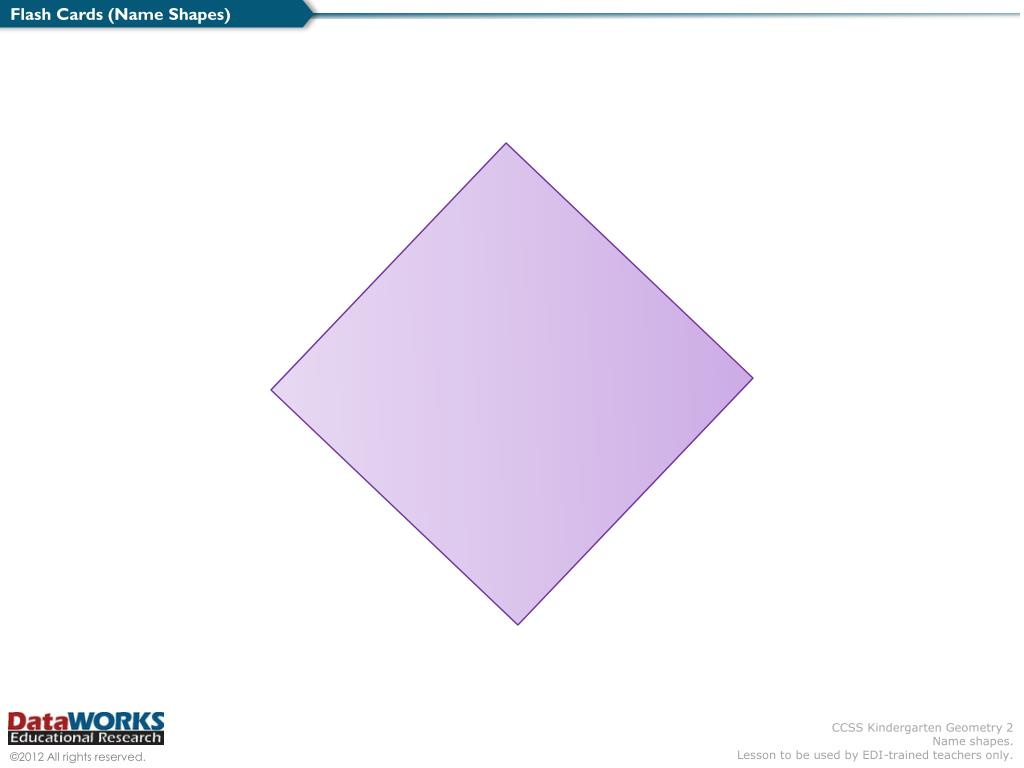 PPT - Flash Cards (Name Shapes) PowerPoint Presentation - ID:3973586