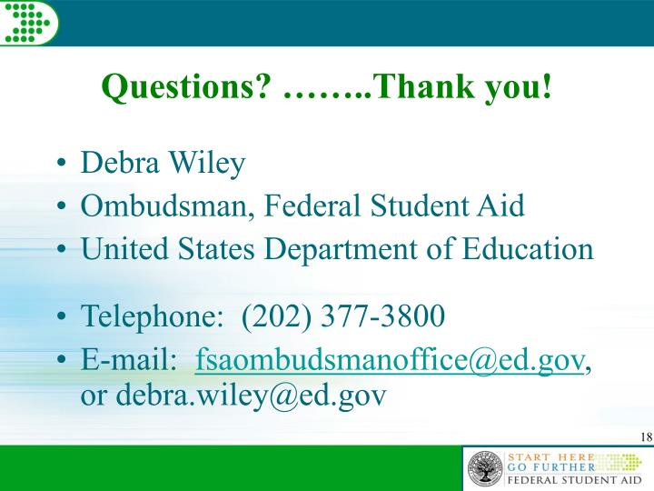 Questions? ……..Thank you!