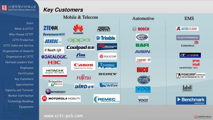 Key Customers