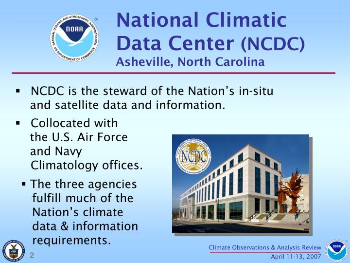 National Climatic