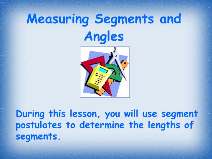 measuring segments and angles n.