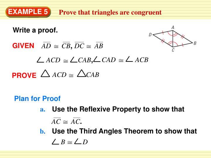 Write a proof.