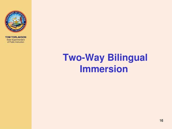 Two-Way Bilingual