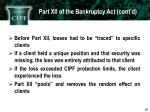 part xii of the bankruptcy act cont d1