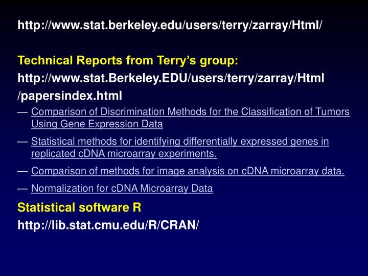 http://www.stat.berkeley.edu/users/terry/zarray/Html/