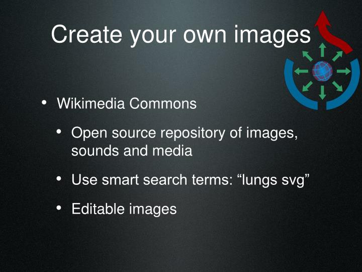 Create your own images