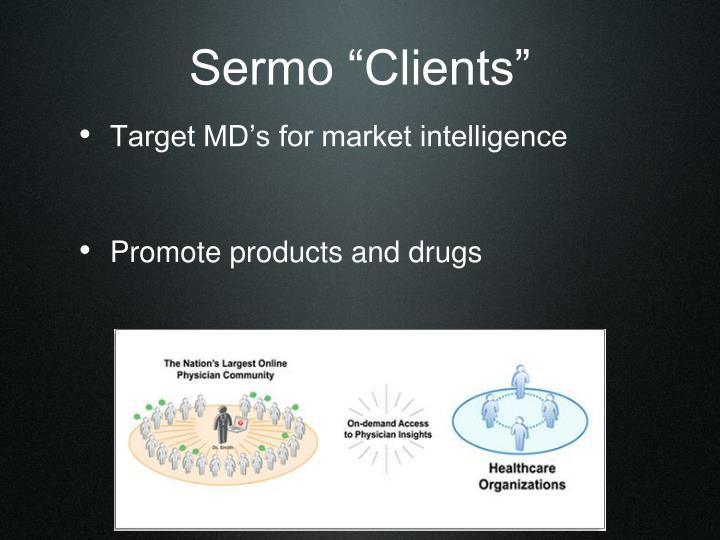 """Sermo """"Clients"""""""