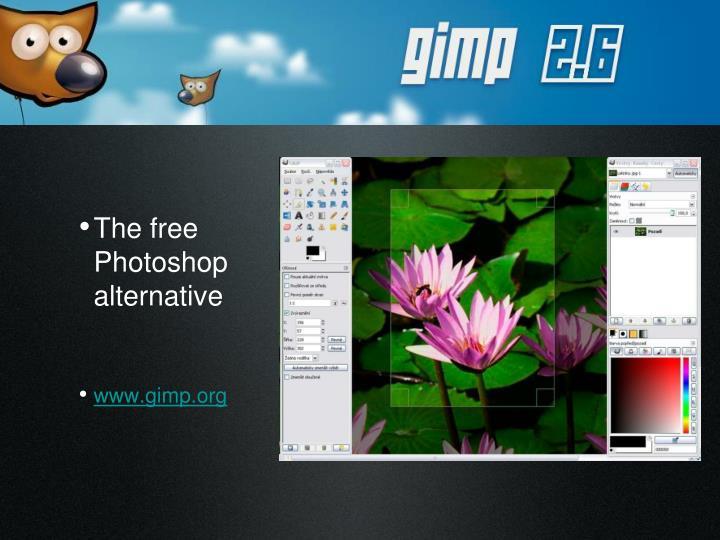 The free Photoshop alternative
