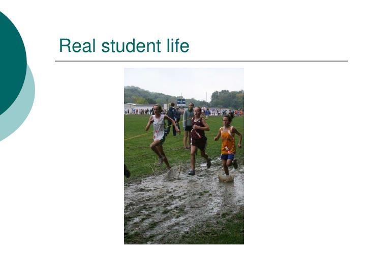 Real student life