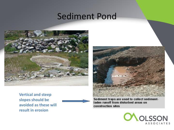 Sediment Pond