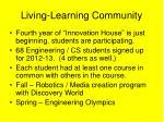 living learning community