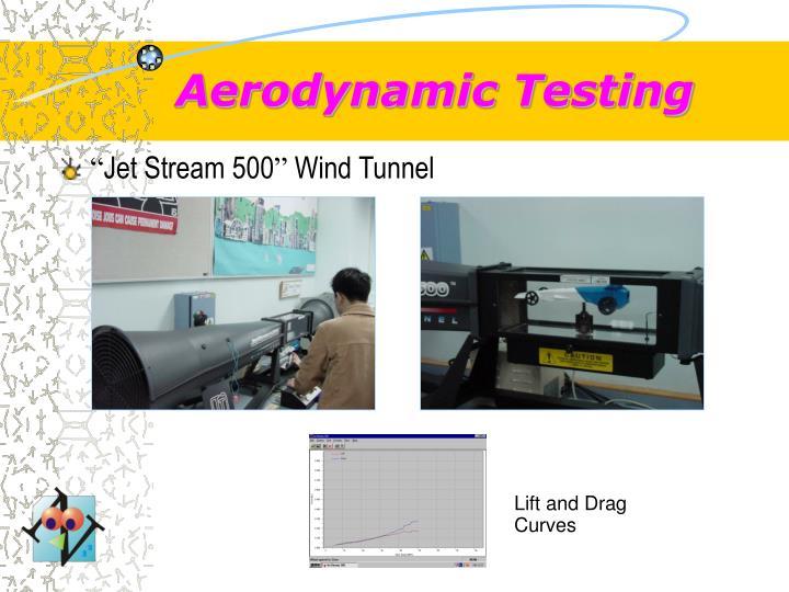 Aerodynamic Testing