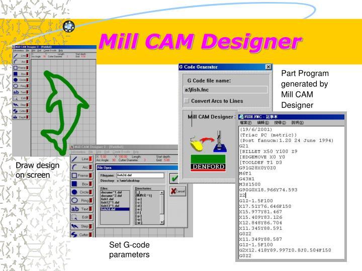 Mill CAM Designer
