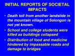 initial reports of societal impacts3