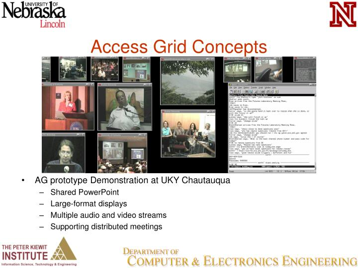 Access Grid Concepts