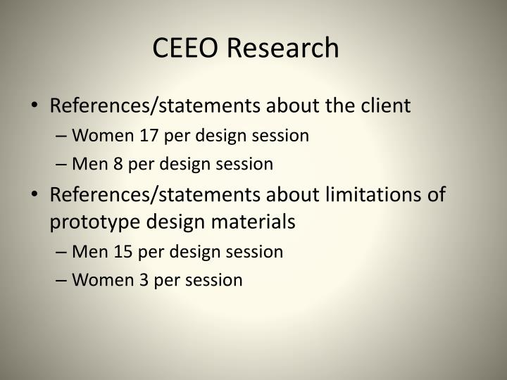 CEEO Research