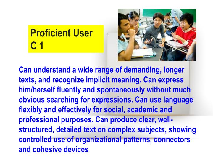 Proficient User