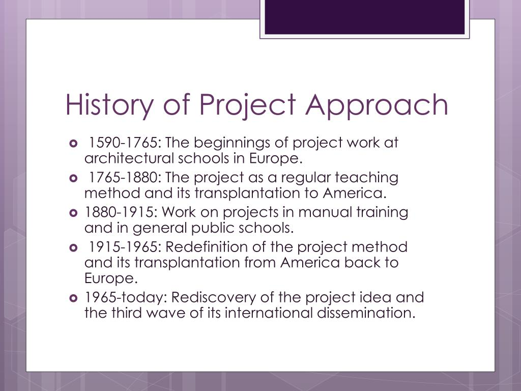 PPT - Project Approach PowerPoint Presentation - ID:3977655
