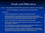 goals and objectives4