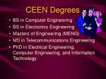 ceen degrees