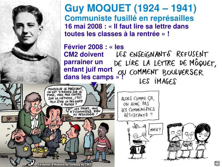 Guy MOQUET (1924 – 1941)
