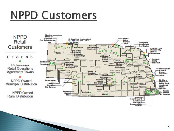 NPPD Customers