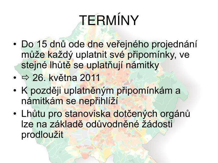 TERMÍNY
