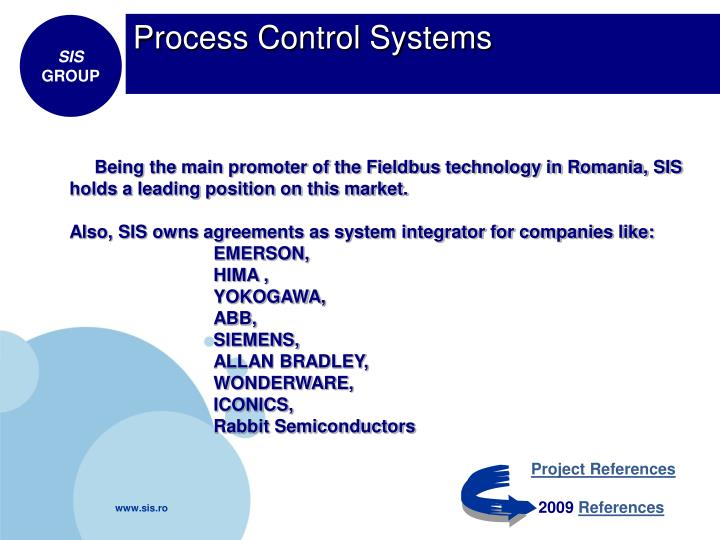Process Control Systems