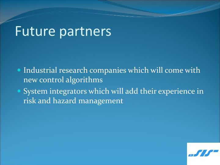 Future partners